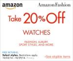20% Off Watch Sale
