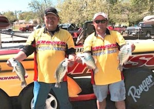 Jeff Riddle and David Maddux took top honors at the Crappie Masters event on Beaver Lake.
